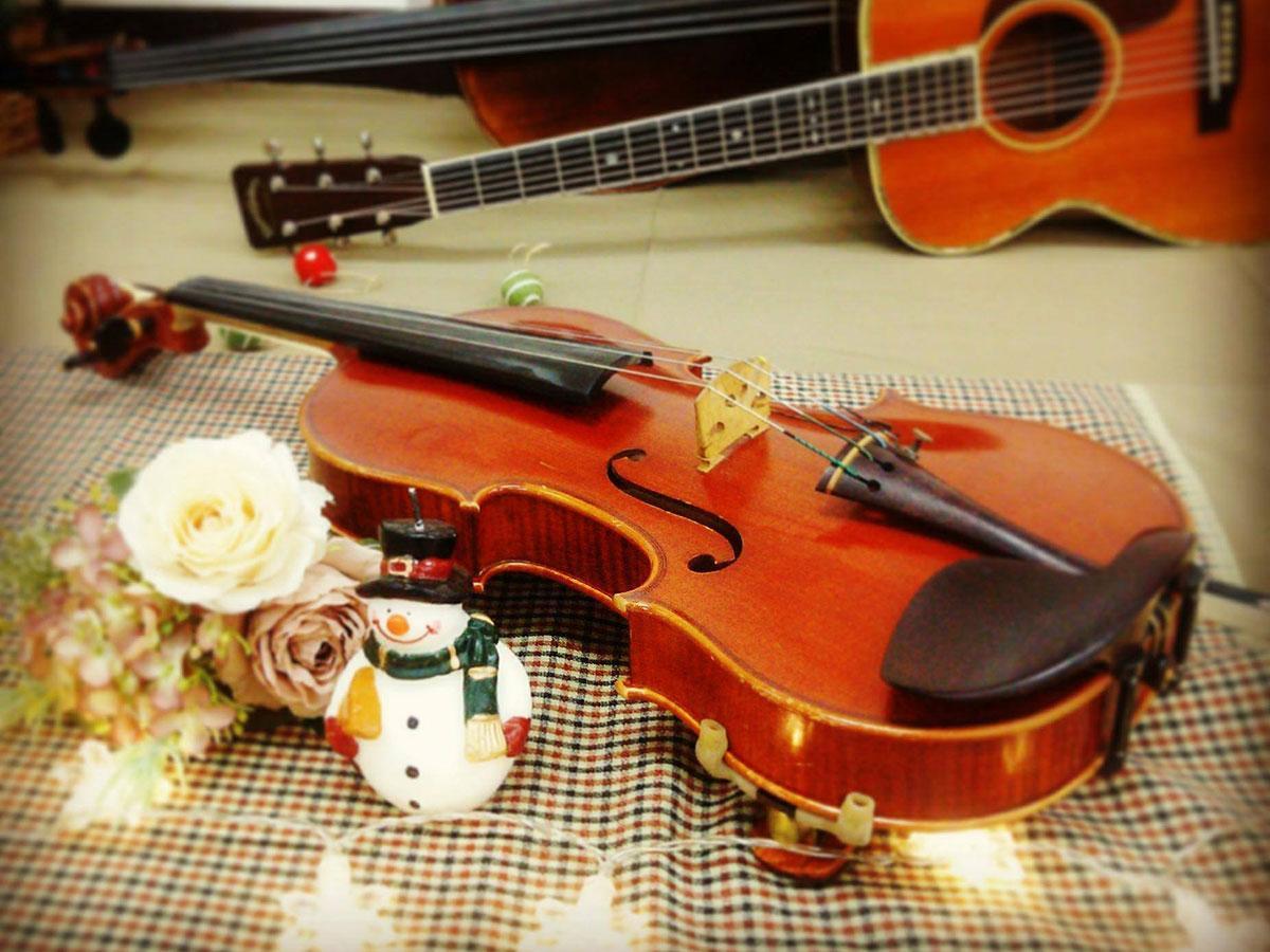 当日は弦楽アンサンブル「リアン」が幅広いジャンルの曲を演奏