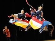 松本で民族歌舞団「荒馬座」公演 山の子保育園40周年記念事業で
