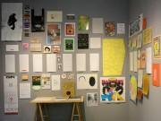 「デザイン会社Allrightの仕事と言葉」展 安曇野の詩人アトリエ兼ギャラリーで