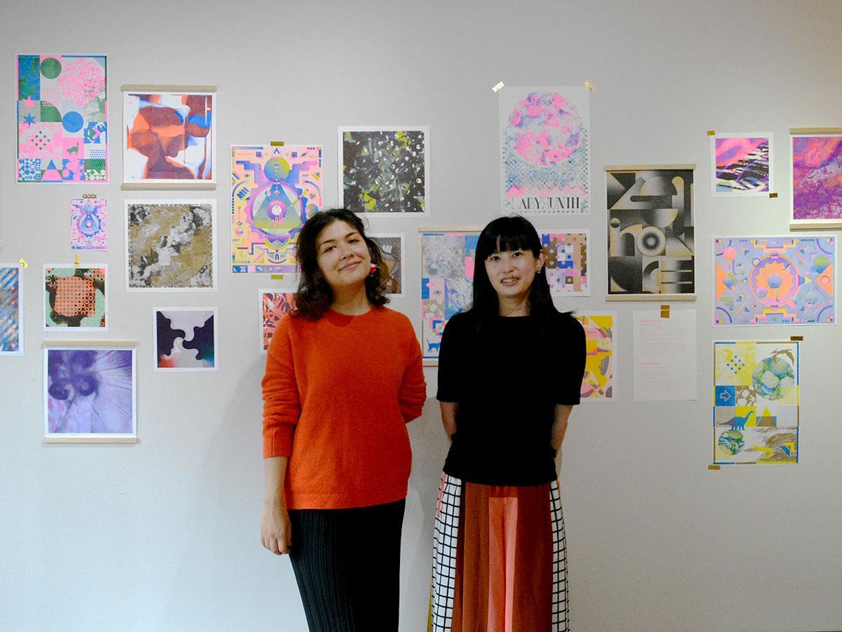 渡辺さん(写真右)とゲリニさん