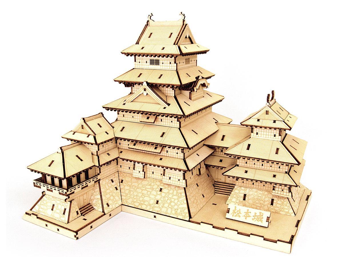「Wooden Art ki-gu-mi 松本城」