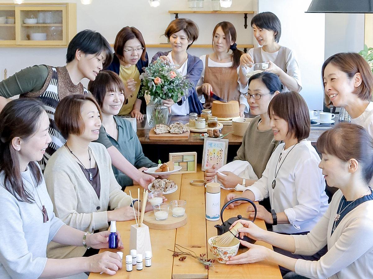 「新しい自分の可能性を見つけてほしい」と集まった女性起業家たち