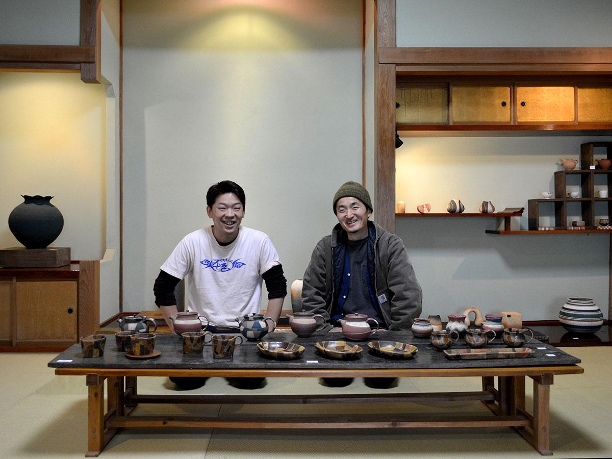 「とり麺や五色」の店主・西沢さん(写真左)と西山さん
