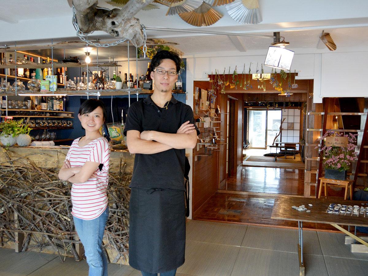 森田さん(写真右)も鈴木さんも20代半ばでの開業。「若さに不安はあったがやりたい気持ちが上回った」