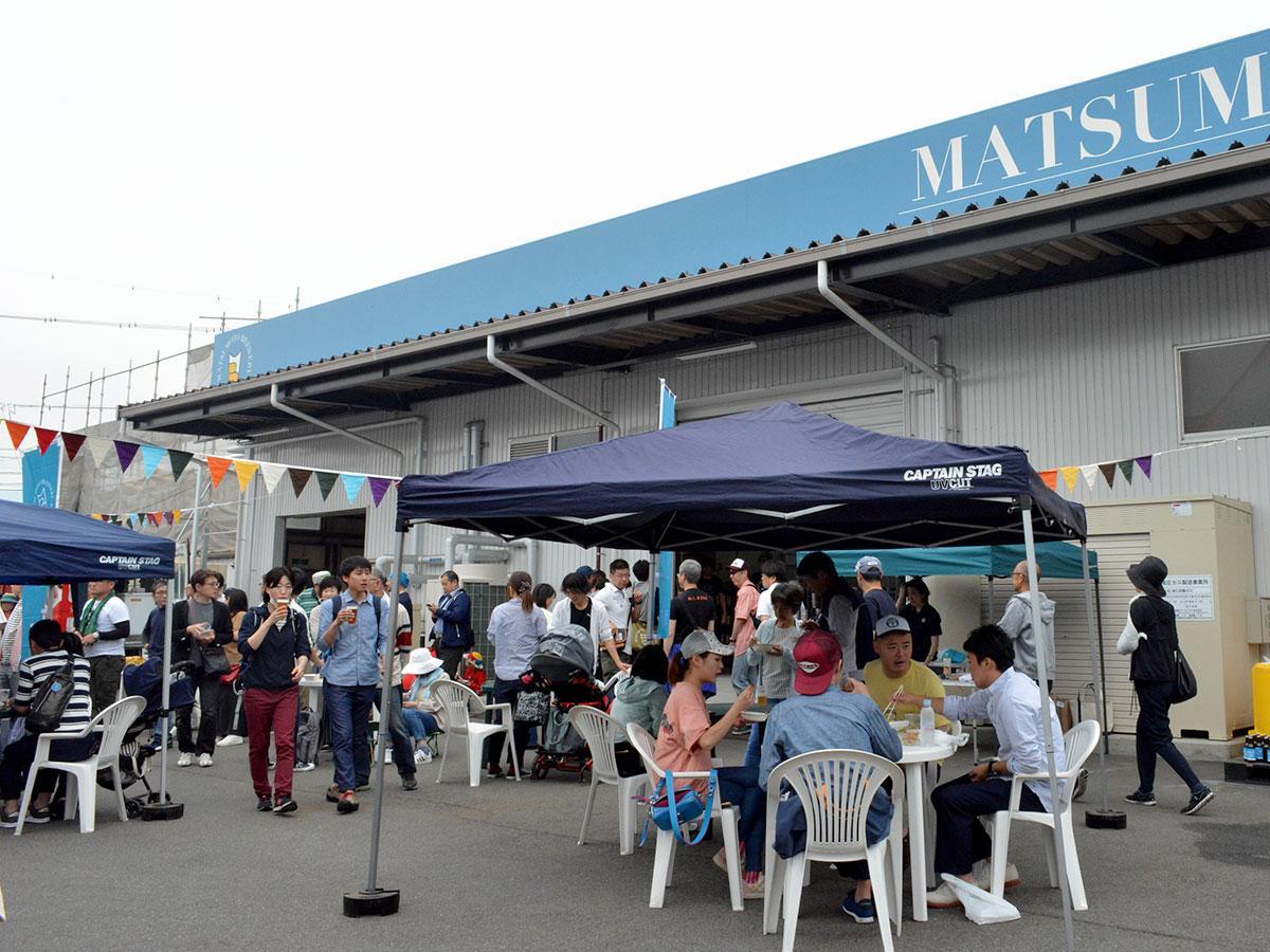 多くの人でにぎわった醸造所祭り&工場見学会