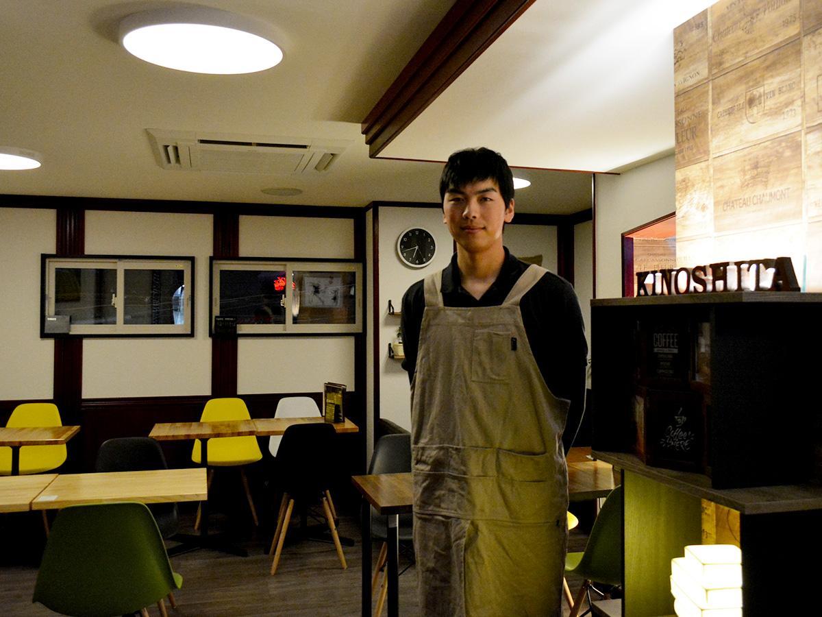 「いろいろな人たちと出会うことができてうれしい」と斉藤さん