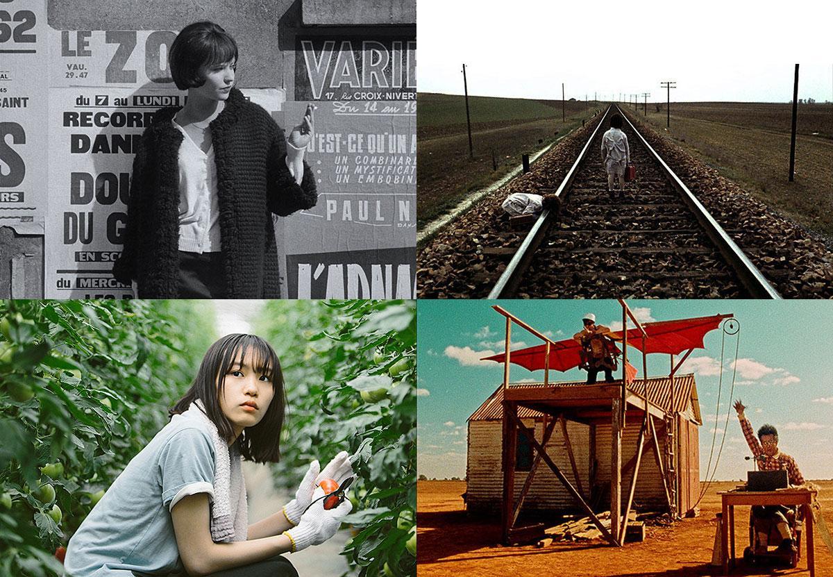 (左上から)©1962.LES FILMS DE LA PLEIADE.Paris、©2005 Video Mercury Films S.A.、©「もみの家」製作委員会、©1988 COMPANY BIZARRE PTY LTD.