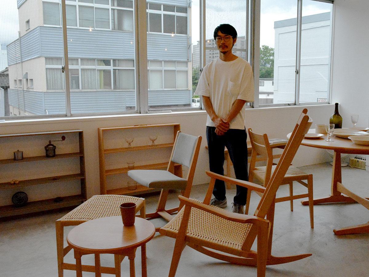 東京のイベントや、例年5月に行われる「商店と工芸」へ参加していたが、個展は初めて