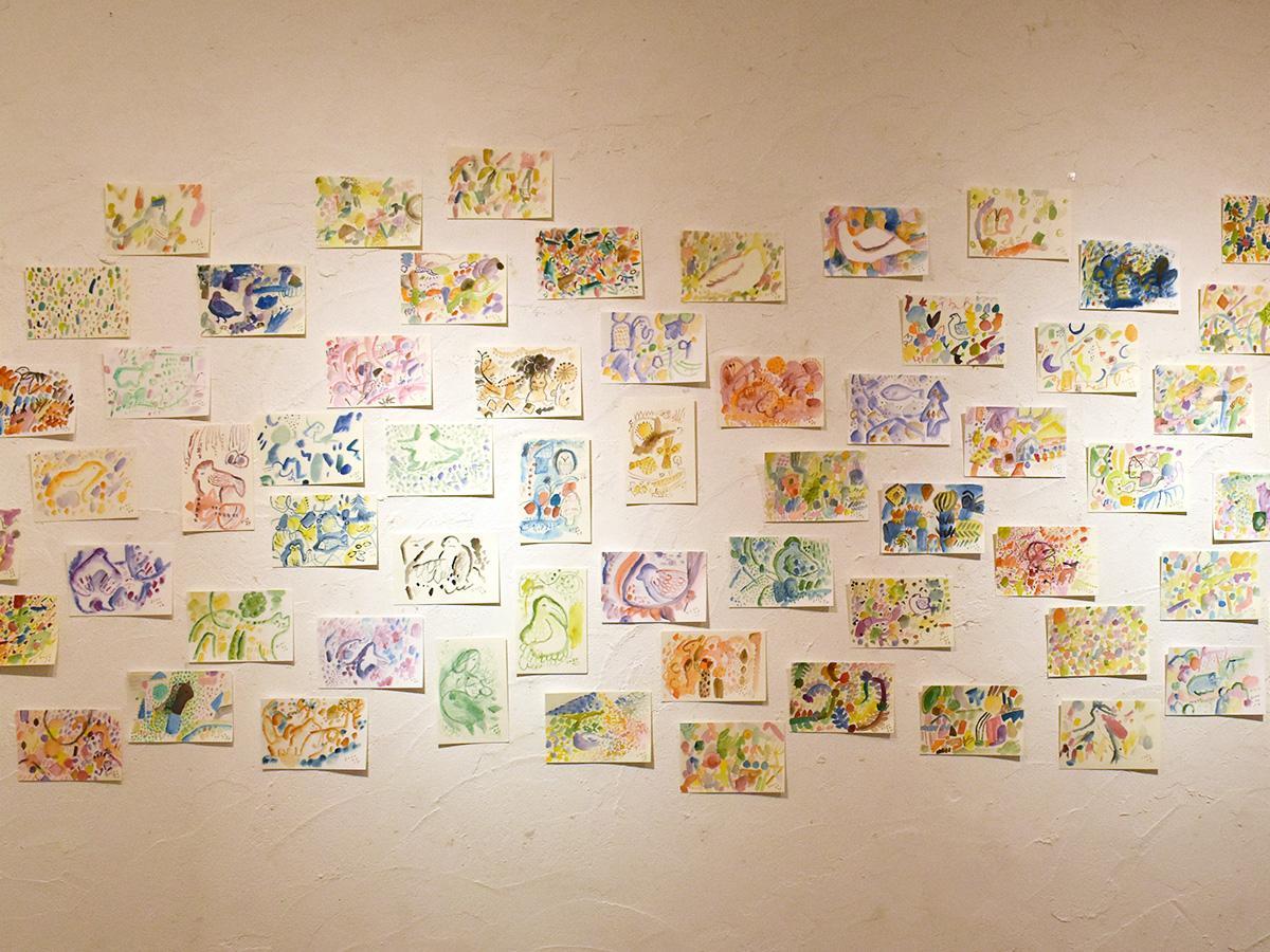 「これからも日課として描き続けていきたい」と小沢さん