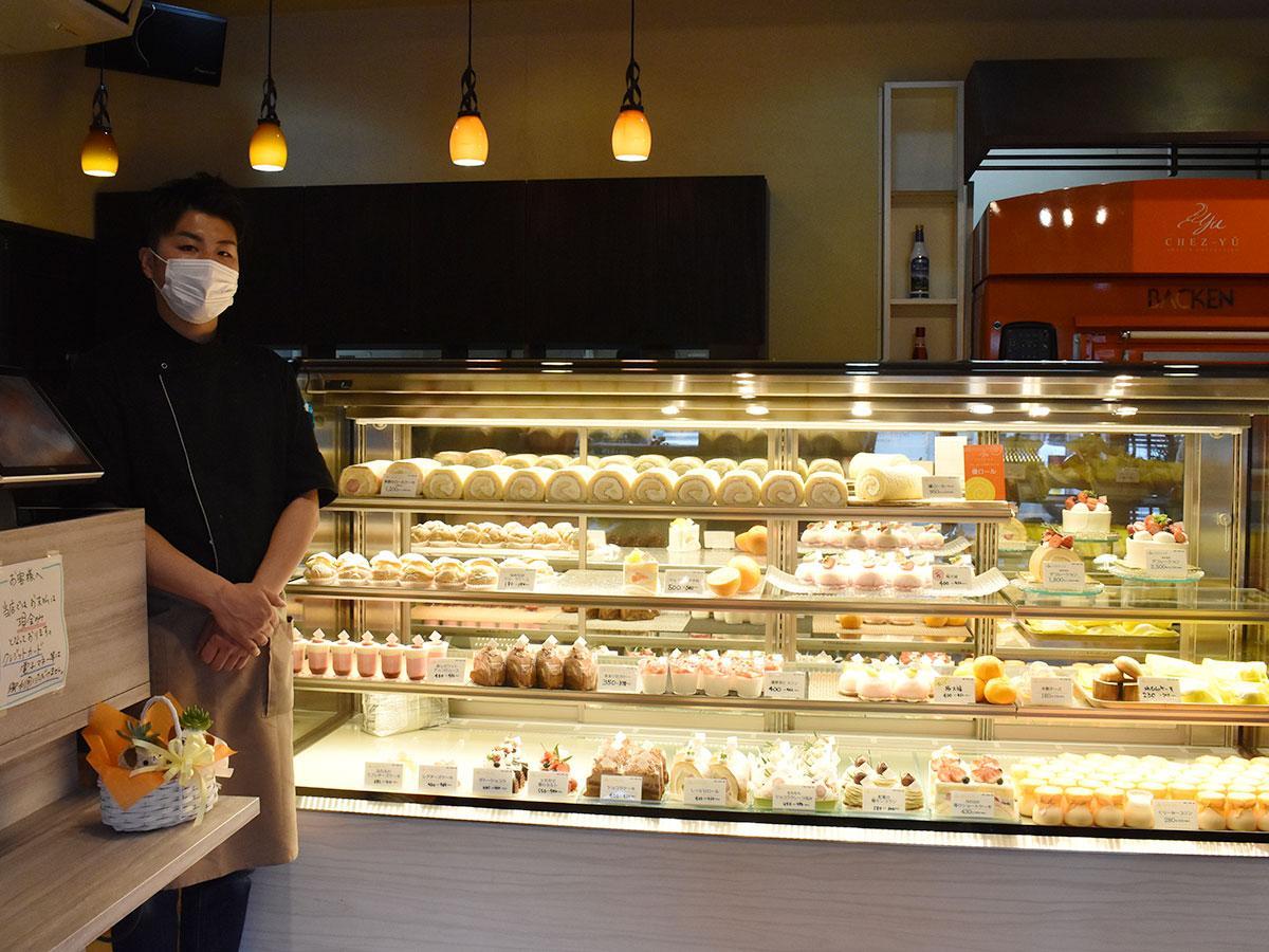 「人とのつながりを大事にして温かい雰囲気の店にしたい」と菊池さん