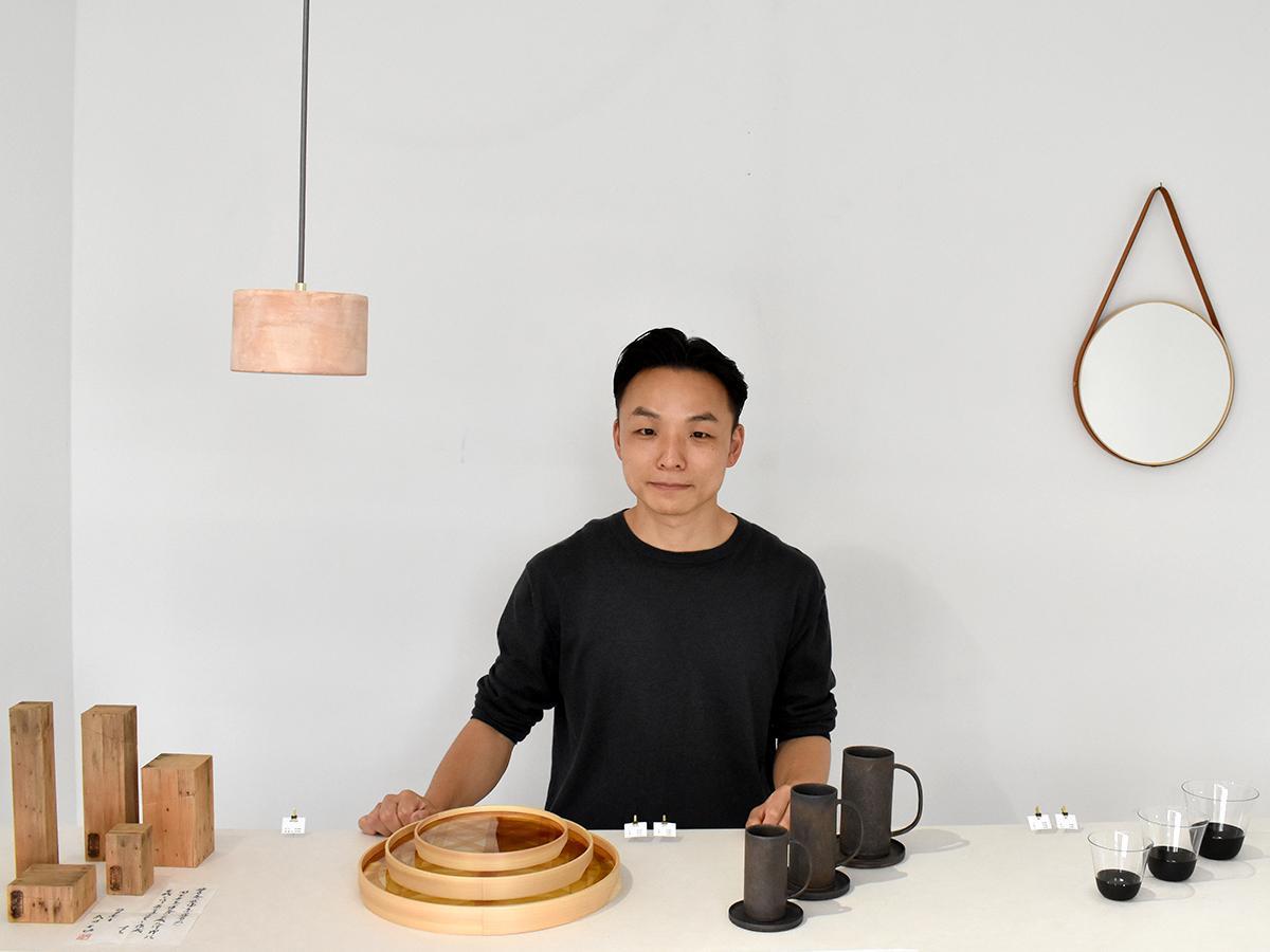 「伝統工芸から学んだことを表現していければ」と井出さん