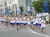 セイジ・オザワ松本フェスティバル歓迎吹奏楽パレード 松本城で合同演奏会も