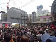 松山の商店街で「お城下スプリングフェスタ」 ご当地アイドルのライブも
