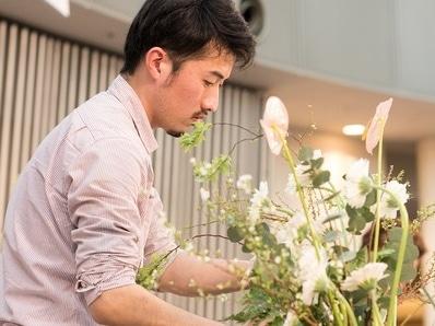 松山で「えひめフラワーフェスティバル」 生け花、花束作りワークショップも