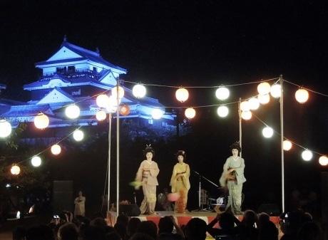 松山城でイルミネーション「光のおもてなし」 昨年好評のイベント、今年も