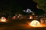松山城で観月祭「月のおもてなし」 芋炊きや月見団子の無料配布も