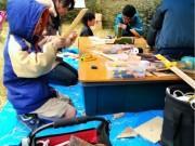 松山・三津で「昭和レトロな三津浜商店街」 「むかし遊び」を身近に