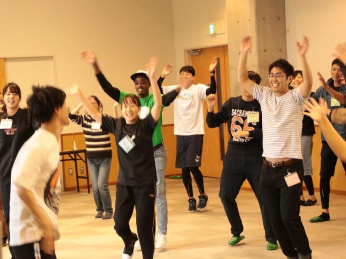 11月に松山市内で行われた「A COMMON BEAT」体験会の様子