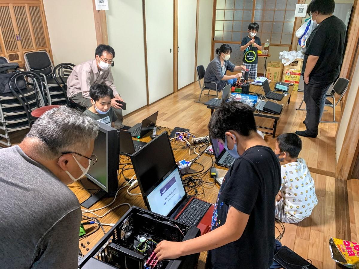 8月29日に開催された「コーダー道場松山」の様子