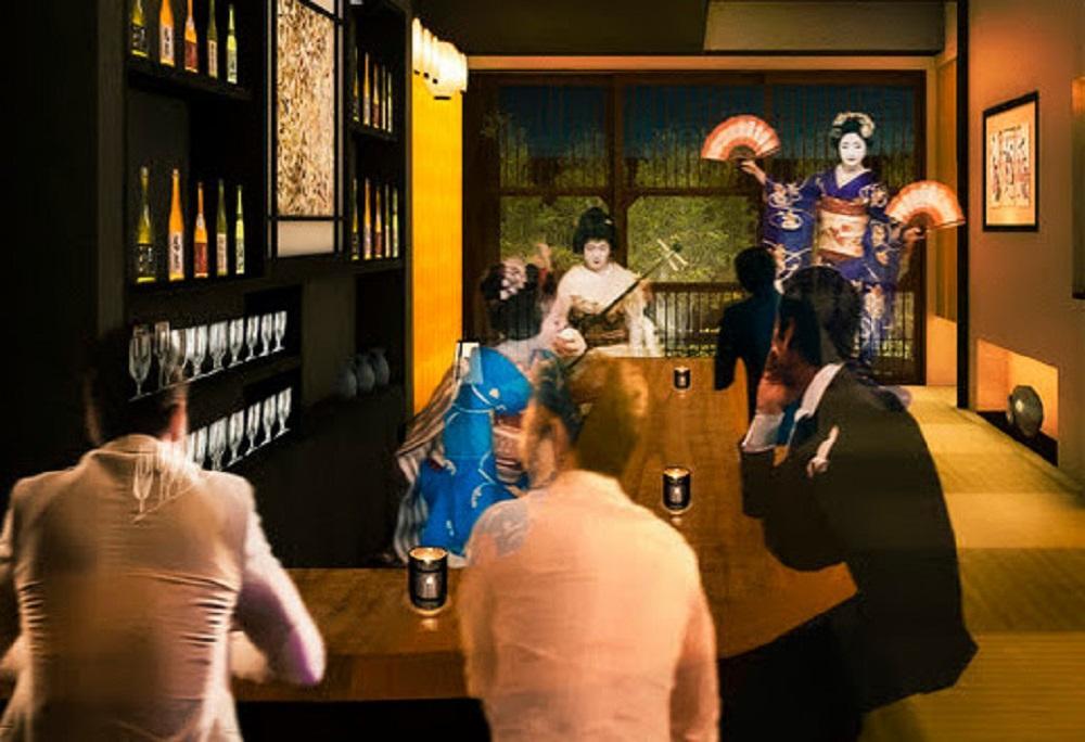 2月8日に予約制で営業を再開した「華ひめ楼」 ランチや夕食を楽しめる店内1階の様子