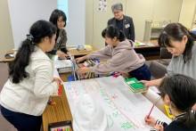 図書館の魅力、再発見「100年後の松山に残したい未来の本棚」ワークショップ