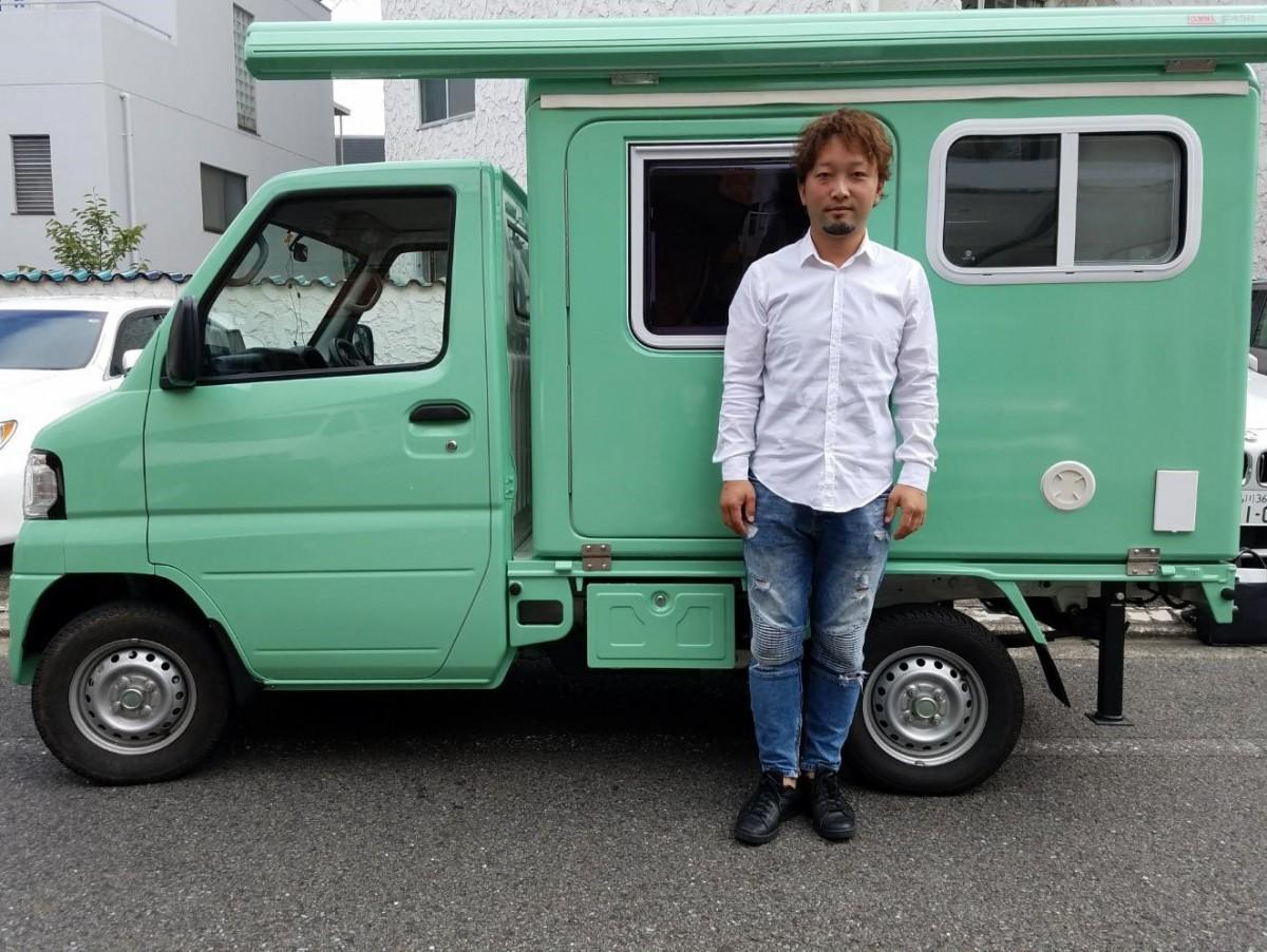 代表丸山譲さんと出張美容専門CAR