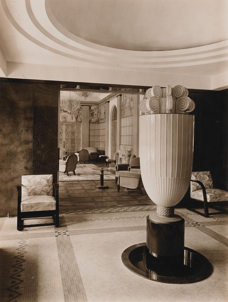 旧朝香宮邸 次室・香水塔 1933年竣工時