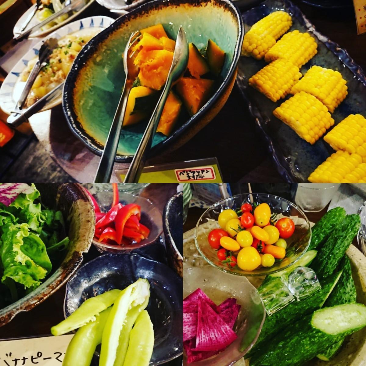 野菜は山梨県清里をはじめ、全国の契約農家から直送。