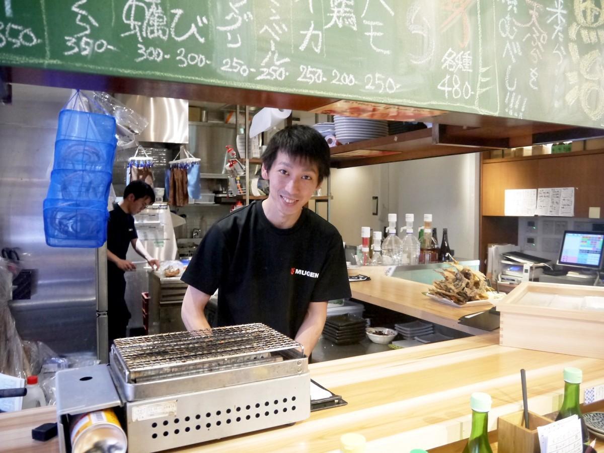 豊洲もったいないプロジェクト 魚治 中目黒 料理長の櫻田雄士さん