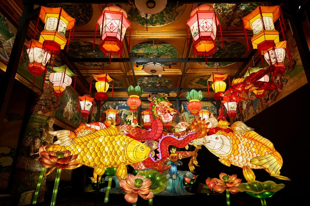 漁樵の間「長崎ランタンフェスティバル」