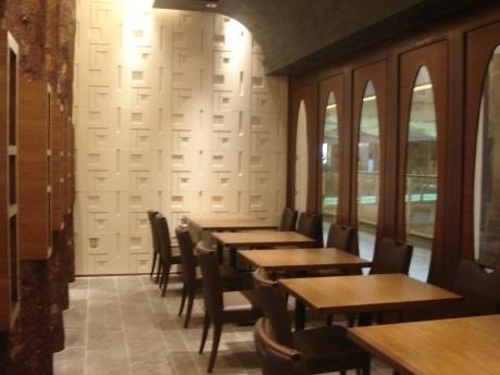 名駅「ミッドランドスクエア」にオープン予定の「キッチン雅木」店内