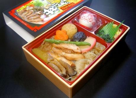 名古屋駅コンコースの「グランドショップ名古屋」で販売されている「ひきずり丼」(1,000円)