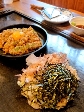 大和 芋 お好み焼き