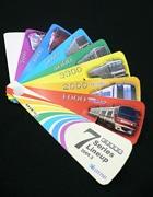 名鉄、7000系パノラマカー引退前に記念乗車券-全7シリーズを扇子状に