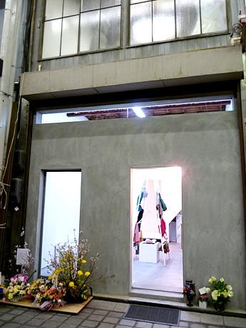 現代的なデザインの「galerie P+EN」外観