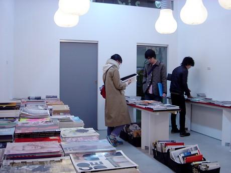 名古屋初開催となる「Magazine Library」の様子