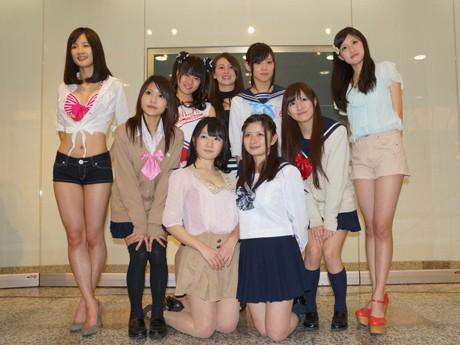 名古屋駅西から誕生するアイドルユニット「Delightful Enchanting Lovely Angels」メンバー