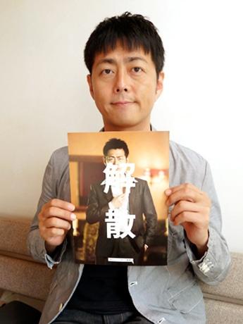 名古屋を訪れた「東京セレソンデラックス」主宰で俳優の宅間孝行さん