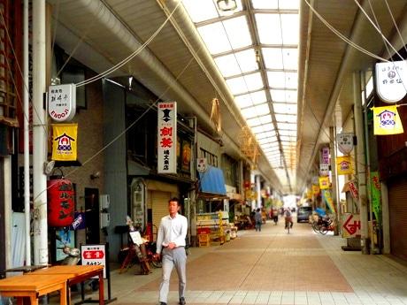 レトロな雰囲気が残る円頓寺商店街・円頓寺本町商店街