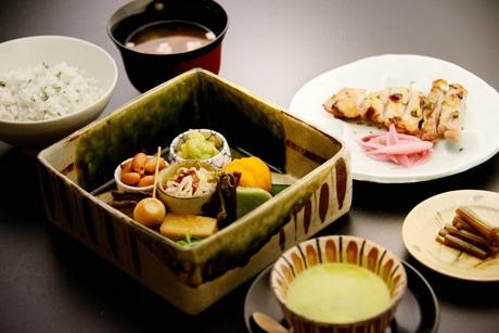 日本料理店「懐韻」で提供する料理の一例