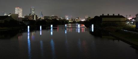 「中川運河 映像アーカイヴプロジェクト」昨年の様子