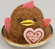 名駅のスイーツ「ぴよりん」 バレンタイン仕様でチョコ色に