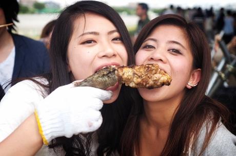 これまで開催した「珍肉BBQ」の参加者の様子(写真提供:Holiday Jack)