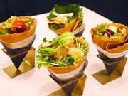 名駅・新ビルの飲食ゾーン「メグルメガーデン」に新規6店 ガレット、担担麺など