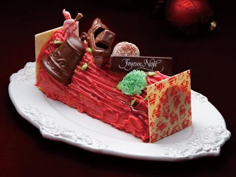 「例年、予約初日に完売する」という人気の高い「オーボンヴュータン」のクリスマスケーキ