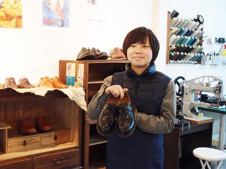 円頓寺商店街にオーダー靴と修理の専門店