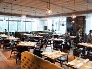 名古屋の街を一望できるレストラン、JRゲートタワー13階に