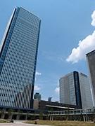 名駅南の新ビル「グローバルゲート」 低層棟の屋上庭園などお披露目
