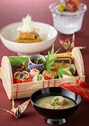 名駅の日本料理店「京都 つる家」が女性向けランチ会席 「つる家ポタージュ」目玉に