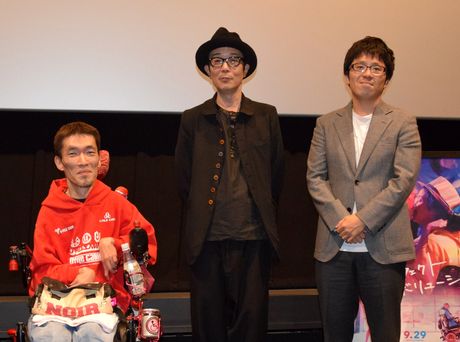 (左から)熊篠慶彦さん、リリー・フランキーさん、松本准平監督